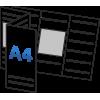 А4 в гармошку  (99х210мм)